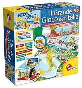Lisciani 44405 - Piccolo Genio Il Grande Gioco Dell'Italia