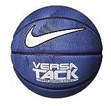 Nike Ballon de basket Versa Tack 8P intérieur extérieur, Lt Photo Blue/Black/Binary Blue/White, 7