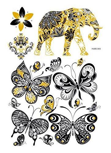 temporre-krperkunst-entfernbare-tattoo-aufkleber-tiere-vt388-sticker-tattoo-temporary-tattoo-fashion