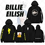 36 stytles hot American singer Coat Tops Billie Eilish loose thin coat hoody printed hoodies men/women Sweater boy/girl...