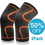 Best Knee Brace For Basketballs - VIPFAN Knee Support, Adjustable Kneepad Brace 1 Pair Review