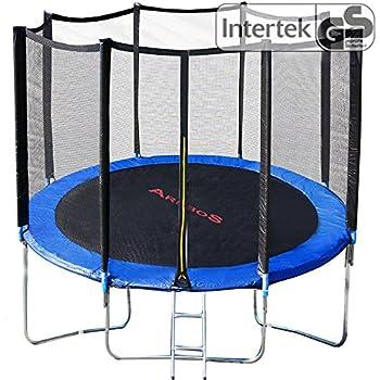 trampolin kindertrampolin garten set 244 cm netz plane. Black Bedroom Furniture Sets. Home Design Ideas