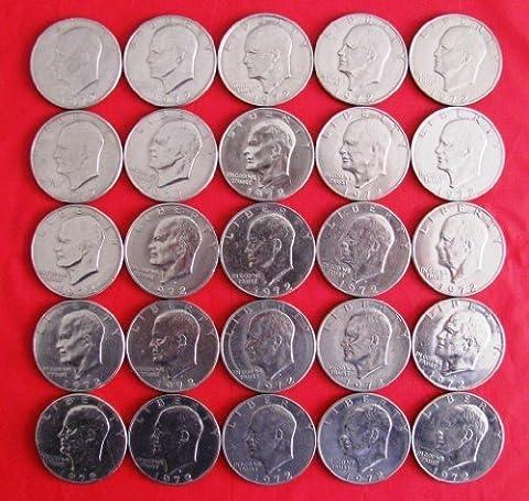 1972 D Eisenhower IKE Dollar by US Mint