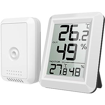 amir hygrometer thermometer innen au en elektronik. Black Bedroom Furniture Sets. Home Design Ideas
