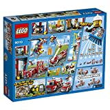 Lego 60110 City Große Feuerwehrstation, Kinderspielzeug, Bauspielzeug