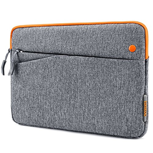 Tomtoc 10 Zoll iPad Sleeve Tasche Schutzhülle für Apple 2017 neu iPad Pro 10,5 Zoll/9,7 Zoll iPad Air Case/Microsoft Surface Go, Kompatibel mit 9,7-10,1 Zoll Tablette, Grau