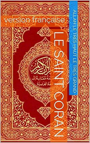 Le saint Coran: version française