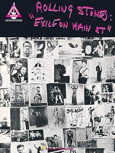 Rolling Stones: Exile On Main Street (Guitar Recorded Version Guitar TAB): Songbook, Tabulatur für Gitarre (Guitar Recorded Versions S)