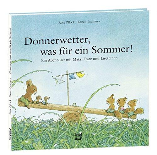 Donnerwetter, was für ein Sommer!: Ein Abenteuer mit Matz, Fratz und Lisettchen