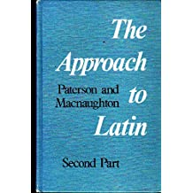 paterson and macnaughton the approach to latin 1 pdf