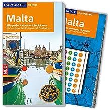 POLYGLOTT on tour Reiseführer Malta: Mit großer Faltkarte, 80 Stickern und individueller App