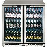 Lec comercial bc9007gled (444443197) Back Bar enfriador de botellas, 225L)