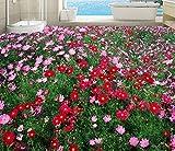 LWCX 3D-Landschaft Hintergrund Anpassbar 3D Stock Badezimmer Wasserdicht Skid 3D-Bodenbeläge Natürlichen Blumen Tapeten Pvc Vinyl Boden Wandbild 200X140CM