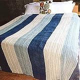 Großartig, stilvoll und modisch Gestreifte Sofa Abdeckung handtuchdecke Sommer Chenille klimaanlage Decke Anti-Slip bettdecke