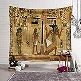 Tapisserie Murales?Morbuy Série de l'Egypte Ancienne Décoration Tenture Couverture Pique-Nique Polyester Nappe Yoga Tapestry