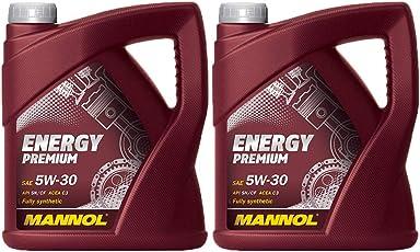 MANNOL Energy Premium 5W-30 C3 DPF, 2 * 5 Liter