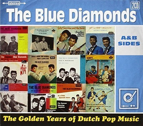 Golden Years of Dutch Pop Musi Blue Diamonds