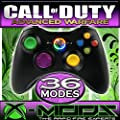Xbox 360 Rapidfire Controller - Coloured - BEST MOD ON AMAZON!! Jumpshot - Dropshot - Jitter - all the best modes!! CoD - Battlefield - Mod - Custom