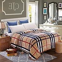 HHYWS Morbido e caldo buttare letto divano coperta di buttare