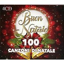 4 CD 100 Canzoni di Natale Buon Natale