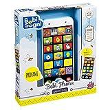 Bebi smartphone è il telefonino pensato per tutti i bambini. Schiacciando i tasti, i bambini sentiranno il verso degli animali ed impareranno anche i numeri