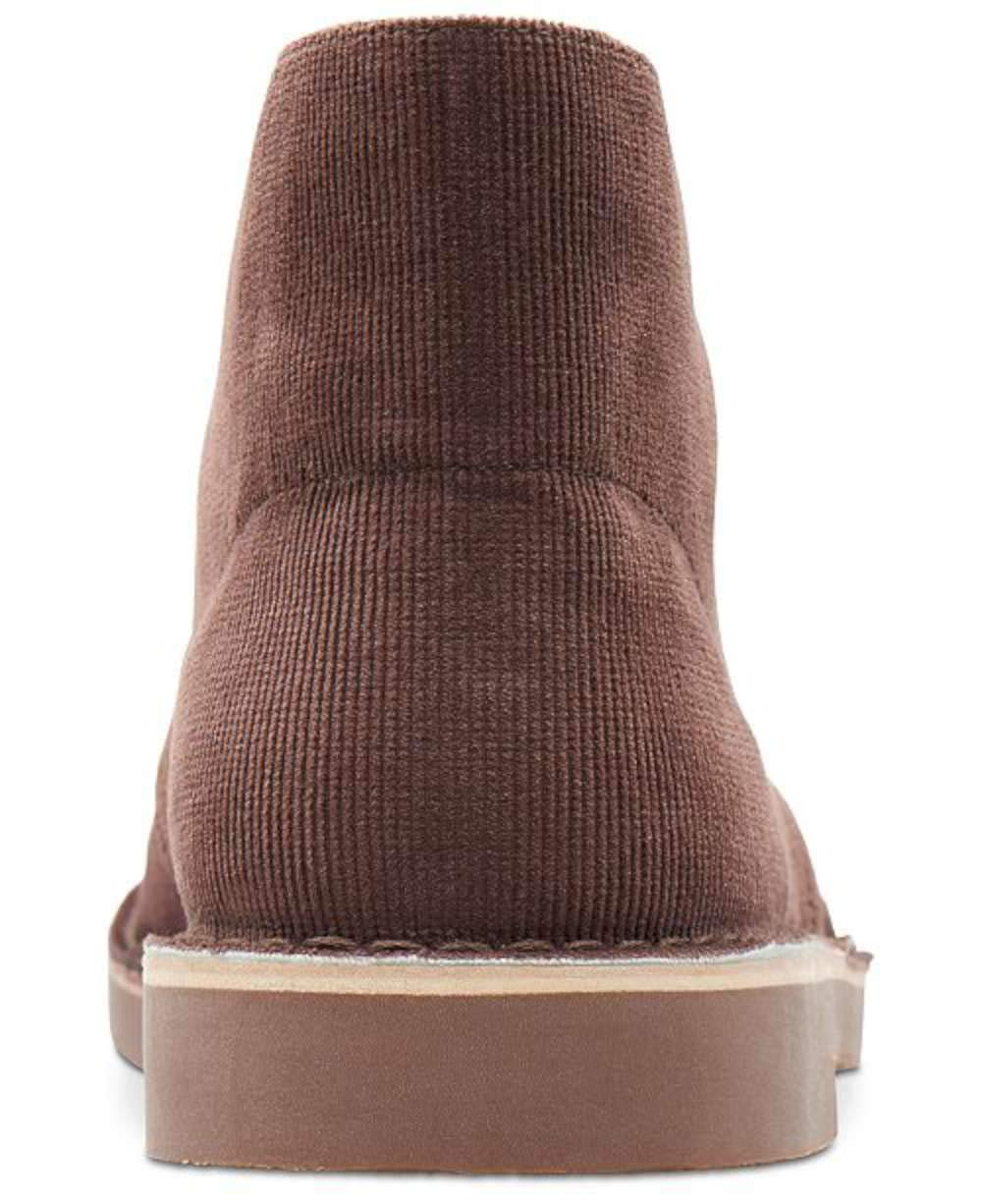 CLARKS Mens Bushacre 2 Fabric Closed Toe Ankle Fashion, Brown Cord, Size 9.0 4