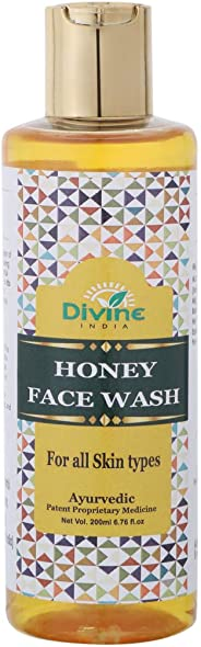 Divine India Honey Face Wash, 200ml