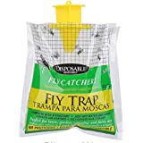 5PCS Disposable Fly Trap Catcher Fly Catcher Insect Trap Hanging Style Pest Control