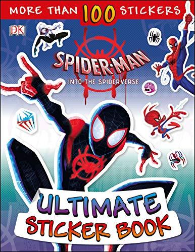 Ultimate Sticker Book: Marvel Spider-Man: Into the Spider-Verse (Ultimate Sticker Books) (Ultimate Morales Spiderman Miles)