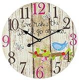 Widdop Bingham Home Living What Makes The World Go Reloj redondo