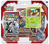 Pokemon USA, Inc. POK80251 Sun & Moon 4 Crimson Invasion Triple Pack Booster: Pokemon TCG, Multicoloured