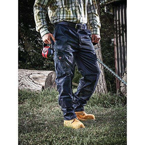 Dickies WD884 Redhawk Super, Pantalone Da Lavoro Uomo, Verde (OlivgrünOL), 44S Blu (Navy)