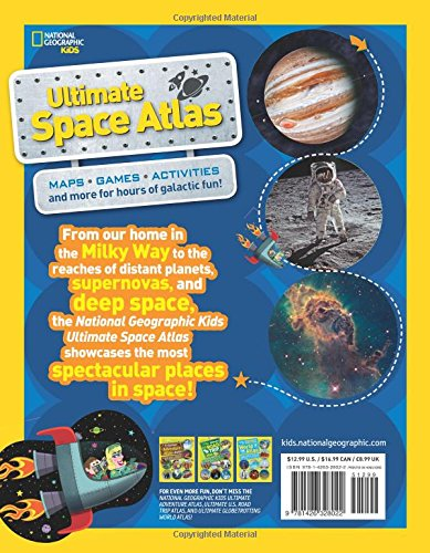 National Geographic Kids Ultimate Space Atlas (Atlas ) [Idioma Inglés]