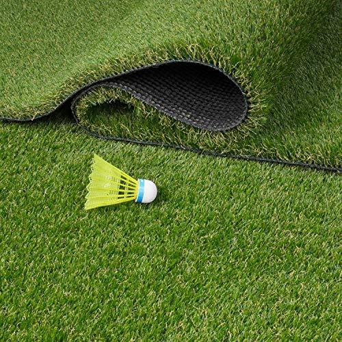 Kunstrasenteppich Grashalme sind dicht und 30mm lang- Farbton reifes Grases (150 x 200 cm) -