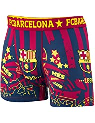Boxer short Barça - Collection officielle FC BARCELONE - Taille adulte homme