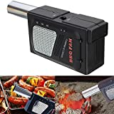 #9: Generic Portable Small Electricity Barbecue Fan Air Blower Fire Bellows Tool