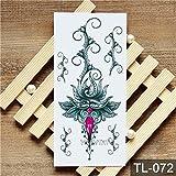 5Pc- Nuovo Impermeabile Tatuaggio Gatto Del Cane Del Drago Modello Animale Tatto Tatoo Tatuaggi Per La Donna Man-In Tatuaggi Da 21