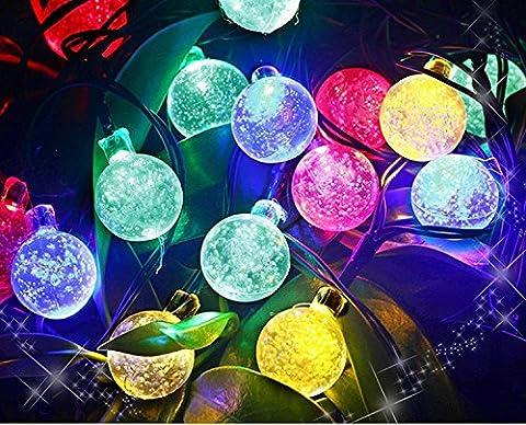 Uping Guirlande Lumineuse Solaire, 30 LED Boules 6,5m 8 Modes,