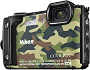 Nikon W300 Waterproof 30m & 16.05 Megapixel Digital Camera(Camouflage) with 16 GB Card & Carry case