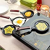 #8: Harikrishnavilla Lovely Cartoon Shape Mini Non-Stick Egg Frying Pan/Pancake Egg Frying Pan/Breakfast Omelette Pan (Design May Vary)