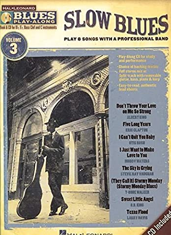 Hl Blues Play Along Vol 3 Slow Blues All Inst Book/Cd