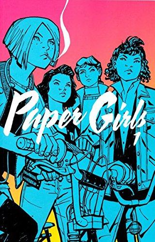 Buchseite und Rezensionen zu 'Paper Girls 1' von Brian K. Vaughan