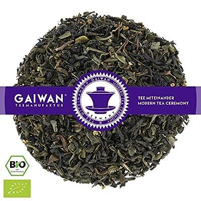 """N° 1355: Thé vert bio""""Fruits du jardin"""" - feuilles de thé issu de l'agriculture biologique - GAIWAN GERMANY - thé vert, Chun Mee de Chine, sureau, saveur naturels, sureau, groseille rouge"""