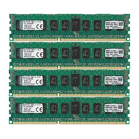 Kingston KTD-PE316SK4/32G Arbeitsspeicher 32GB DDR3-RAM Kit