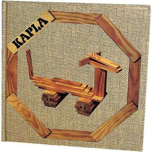 Kapla Kunstbuch Band Nr.4 Art Book Tiere und Gebäude 3+
