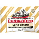 Caramelle Fisherman's Miele Limone Mentolo Senza Zuccheri - 10 buste da 25g - La forza balsamica del Mentolo e la…