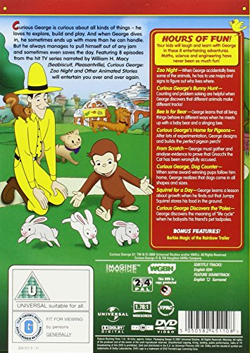Image of Curious George: Zoo Night And Other Animal Stories [DVD]