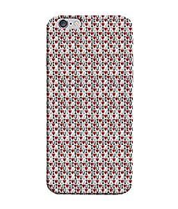 PrintVisa Designer Back Case Cover for Apple iPhone 6 (Game Emotion U Bites My Family Beautiful Sister)