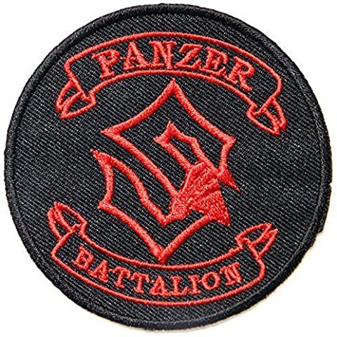 Sabaton Panzer Battalion Logo Punk Rock Heavy Metal Music Band Jacket shirt hat blanket backpack T shirt Patch Embroidered Appliques Symbol Badge Cloth Sign Costume Gift by Large husky music patches