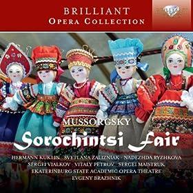 Sorochintsi Fair, Act 2: Scene of Cherevik and Khivrya